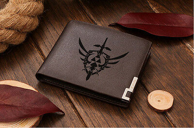 Zelda Triforce Logo Genuine Quality Leather Wallet