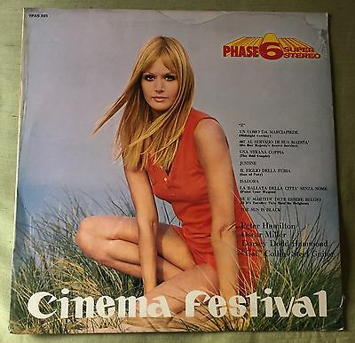 Cinema Festival - Rare Italian Funk/jazz/library Lp Sexy Cover - Sealed