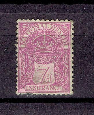 UK Great Britain Revenue Fiscal Tax stamps Natinal Health Insurance  7d