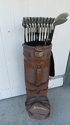 Dunlop DDH Tour Golf Clubs with bag & buggy