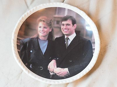 Prince Andrew and Sarah Ferguson plate