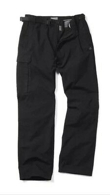 Craghoppers Classic Kiwi Trousers Black Size 34 Regular
