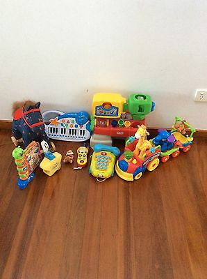 Baby / Toddler Toy Bundle Fisher Price / Little Tikes / V Tech / Tomy