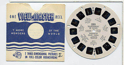 Tournament of Roses, California    Sawyer's Viewmaster Reel 222