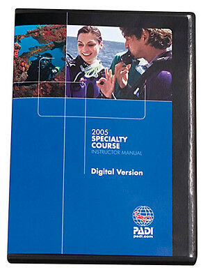 PADI Speciality Instructor Manual current version - choice of languages