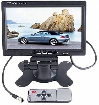 BW 7 inch High Resolution 800*480 TFT Color LCD Car Rear View Camera Monitor 2