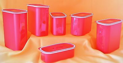 Original Tupperware Ultimo 1,25l rot (oval)