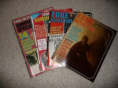 Four True Detective Magazines, two summer specials.