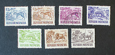 Indonesia Animal Stamps