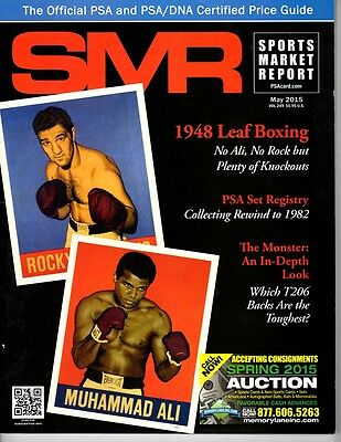 PSA SMR Sports Market Report  NEW 2015 Marciano/ Ali on Cover