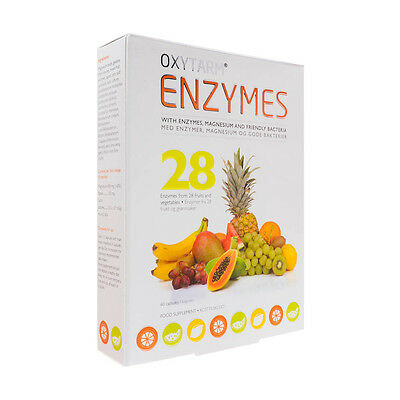 Oxytarm Enzymes - Scandinavia's No1 Colon Cleanse With Extra Digestive Enzymes