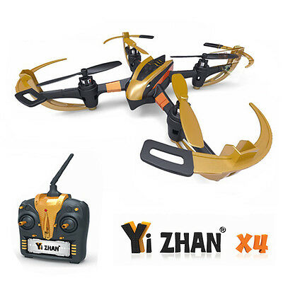 New Yi Zhan X4 Quadcopter 4CH 6Axis 2.4G Gyro RC Helicopter RTF Drone Black