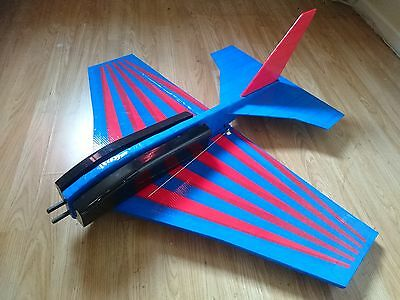 Ats Dingbat Unbreakable Corex Delta Wing R/c Plane Rc Aeroplane Flying Wing