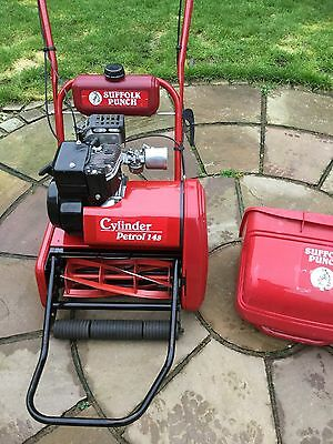 Qualcast Classic 35s Suffolk Punch 14sSelf Propelled Petrol Cylinder Mower