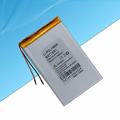 Polymer Lithium  Battery for Tablet PC  3400 mAh / 3.7V