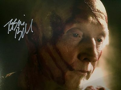 Tobin Bell Original Hand signed photo 12 x 8 with COA