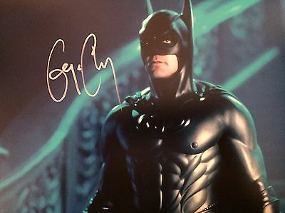 George Clooney Original Hand signed photo 12 x 8 with COA
