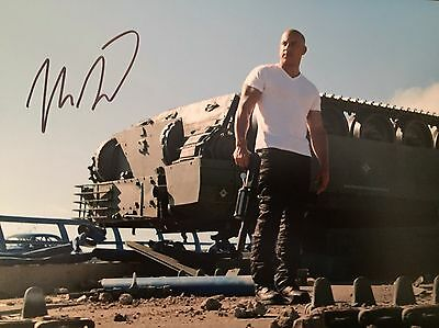 Vin Diesel Original Hand signed photo 12 x 8 with COA