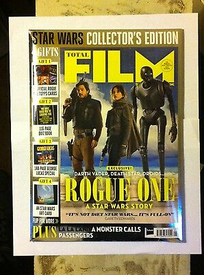 Total Film magazine JAN 2017 Star Wars Rogue One Collector's Edition Printed UK