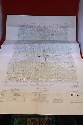 Us Army Topo Map Ft Benning Infantry School Mr6 Mr7 Mr8 150000 - Us-army-topographic-maps