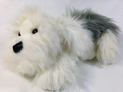 Commonwealth Higgins Old English Sheepdog Plush Puppy Long Pile Stuffed Toy