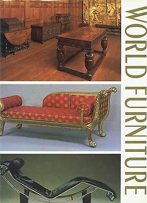 Antique Furniture International Styles Types Periods Etc. / Scarce Oversize Book