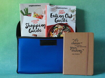 Weight Watchers SMART Points 2016 / 2017 BOOKS + Tracker Diary + Case - Guide