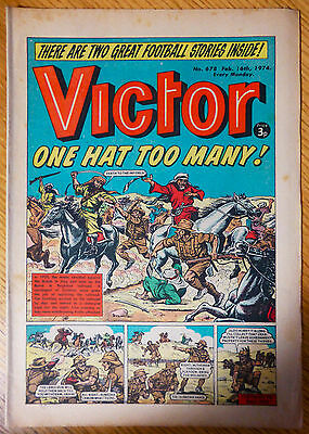 The Victor (UK Comic) - Issue #678 (16th February 1974)