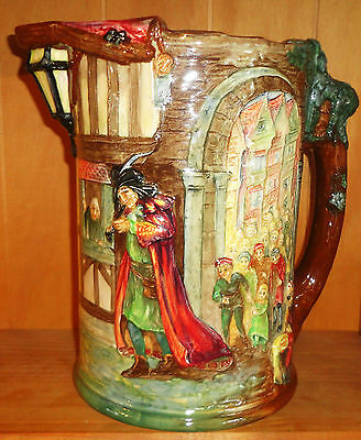 Royal Doulton Pied Piper of Hamelin Large Art Deco Jug L/E of 600 Produced 1934