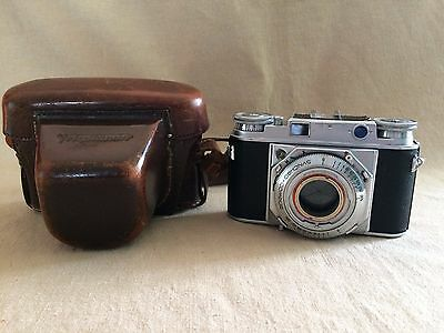 Vintage VOIGTLÄNDER PROMINENT BODY ONLY Mystery Model  Spares&Repairs + case