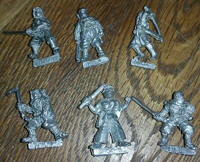 6 Games Workshop Citadel Oriental Heroes Ninja Miniatures