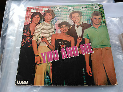 Single Spargo - You And Me - Wea Spain 1980 Vg+