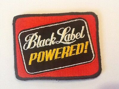 Black Label Powered Racing Patch