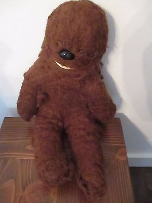 STAR WARS: Vintage 1977 Kenner Stuffed Chewy  Chewbacca Lot 1