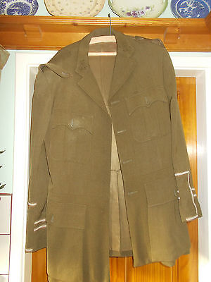 WW1 Style British Officers Service Dress SD Jacket Uniform
