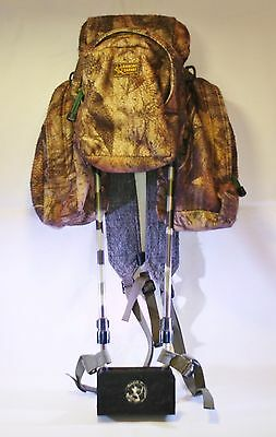 Rancho Safari CATQUIVER II 2 Archery Bow Hunting Backpack Camo Camouflage USA