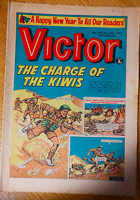 The Victor (UK Comic) - Issue #672 (5th January 1974)