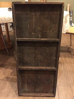 Letterpress Vintage Printers Tray Wood Arts Crafts Boxes