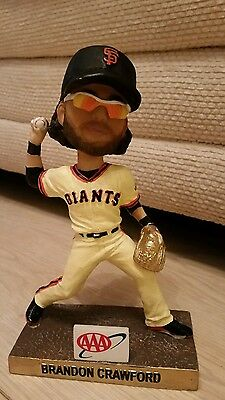 SAN FRANCISCO GIANTS BRANDON CRAWFORD 2015 Gold Glove Bobble head