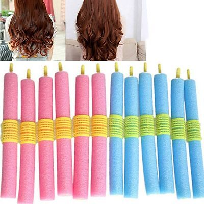 Tool 12pcs/set Soft Manually DIY Curlers Stick Hair Roller Sponge