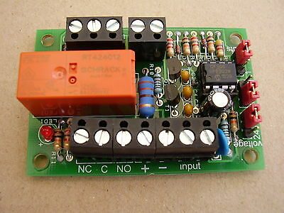 Latching relay board ( with either 1 or 2 pushbutton inputs )