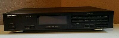 Pioneer F-449 AM / FM Stereo Tuner - Excellent