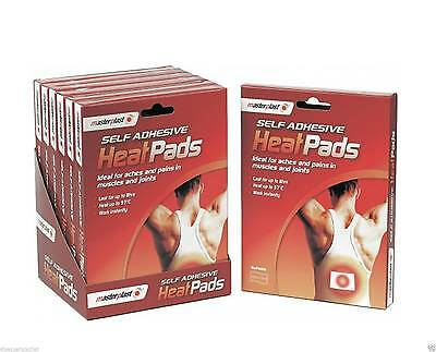 Pad Self Adhesive Heat Pads Pack Muscle Back Joint Pains Relief Instant