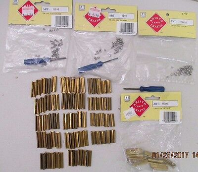 Aristocraft G Scale 11900 Rail Joiners + Screws 11910