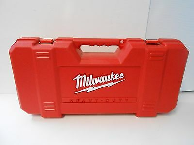 Used Empty Milwaukee Plastic Super Sawzall EMPTY CASE ONLY FOR A 6538-21 EMPTY