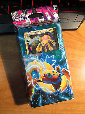 COMPLETE Pokemon BOLT TWISTER Card PHANTOM FORCES Set THEME DECK Galvantula TCG