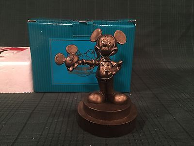 WDCC WDAC Blast From the Past - Rare Bronze Mickey Mouse with Mouse Ears