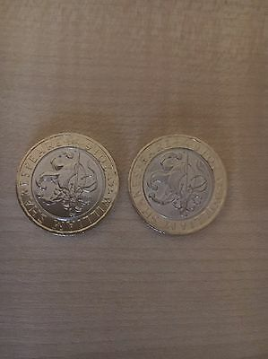 2016 Royal Mint William Shakespeare Comedies Two Pound Coin £2