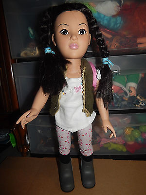 "Madame Alexander Asian Ethnicity 18"" Doll W/clothes  Htf"