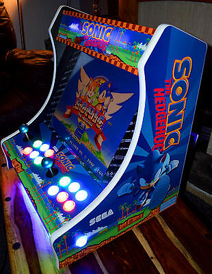 Custom Sonic Bartop Arcade Machine